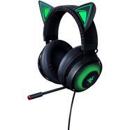 Auscultadores Gaming RAZER Kraken Kitty Eition (Over ear – Microfone – Preto)