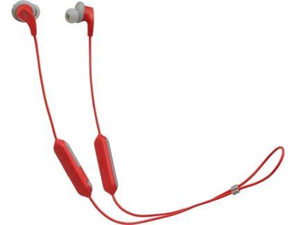 Auriculares Bluetooth JBL Endurance Run (In Ear – Microfone – Atende Chamadas – Vermelho)