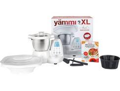 Robô de Cozinha YÄMMI 2 XL + Bandeja + Livro de Receitas (4.8 L – 1500 W – 12 acessórios)