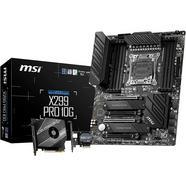 Motherboard MSI X299 Pro 10G (Socket LGA2066 – Intel X299 – ATX)