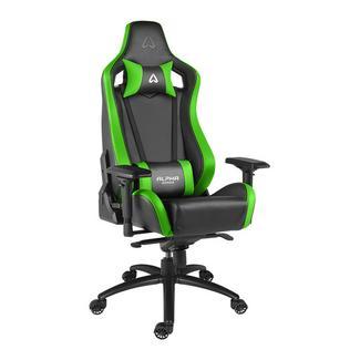 Cadeira Alpha Gamer Polaris Racing Black/Green
