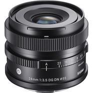 Objetiva Sigma Contemporary 24mm f3.5 DG DN L-Mount – Preta