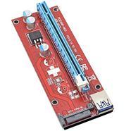 Riser Card PCIE 1x para 16x USB 3.0 v 007S (SATA)