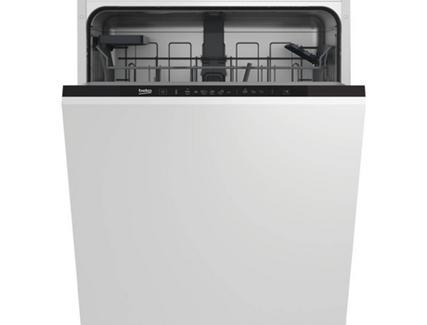 Máquina de Lavar Loiça Encastre BEKO DIN36421 (14 Conjuntos – 59.8 cm – Painel Preto)