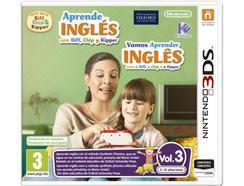 Jogo Nintendo 3DS Aprende Inglês Vol.3