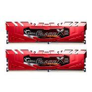 G.SKILL Flare X 16GB (2x8GB) DDR4-2133MHz CL15 Vermelha