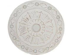 Decoração de Parede Flor Talhada ITEM Mad/vidro