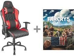 Cadeira Gaming TRUST GXT 707R Resto + Jogo Far Cry 5