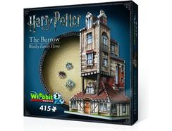 Puzzle 3D HARRY POTTER The Burrow (Weasley Family Home)