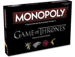 Jogo de Tabuleiro MONOPOLY: Game Of Thrones (em português) – Collector's Edition