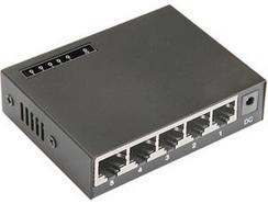 Switch NTECH SW5P100 (5 Portas)