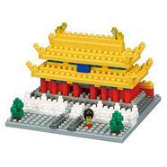 Construção NANOBLOCK Cidade Proibida (Idade Mínima: 12 – 300 Peças)