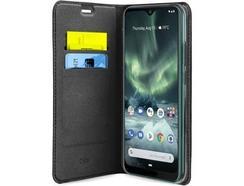 Capa Nokia 7.2, 6.2 SBS Bookwallet Preto