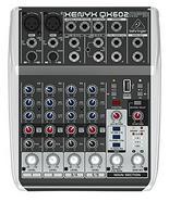 Mesa de mistura BEHRINGER QX602MP3 (Canais: 6 – 15W – USB)
