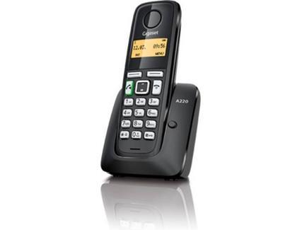 Siemens Gigaset Telefone Sem Fios DECT A220