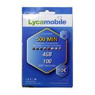 Cartão SIM Lyca Top Total 4GB + 500 Min