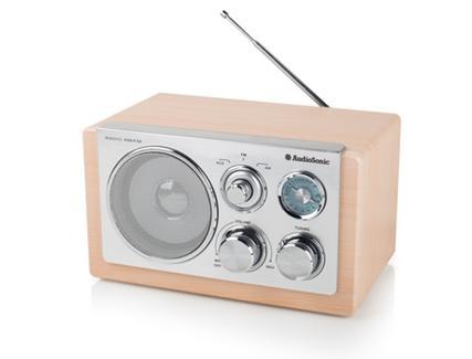 Rádio Portátil Retro AUDIOSONIC RD-1540