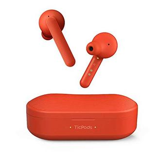 Auriculares Bluetooth True Wireless MOBVOI TicPods (In Ear – Microfone – Noise Canceling – Vermelho)