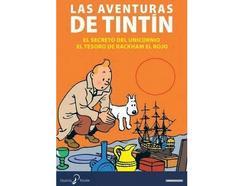 DVD Pack Tintin El Secreto Unicornio+Tes (Edição em Espanhol)