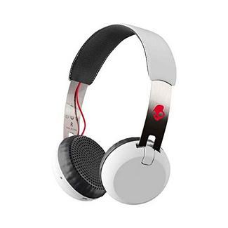 Auscultadores Bluetooth SKULLCANDY Grind (On Ear – Microfone – Multicor)