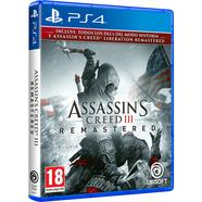 Assassin's Creed III + Assassin's Creed Liberation Remaster – PS4