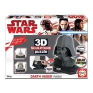 Puzzle Color 3D Escultura Dartth Vader Star Wars…