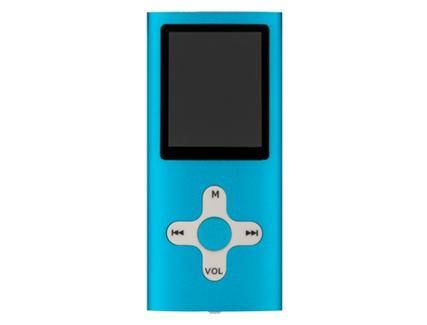 Leitor MP4 HOTT A730 4GB Azul