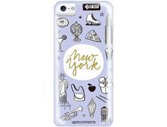 Capa LOVELY STREETS Viagem NY iPhone 5, 5s, SE