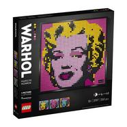 Set LEGO Art Andy Warhol's Marilyn Monroe