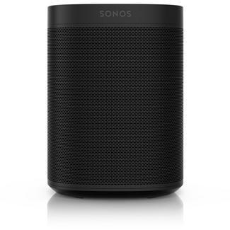 Coluna inteligente Sonos One Multiroom Wi-Fi c/ control de voz – Preto