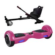 Patinete eléctrica hoverboard X3 + Go-Kart Pro 2.0 SmartGyro Rosa