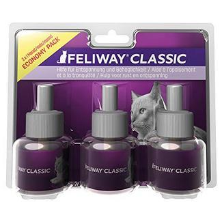 FELIWAY Classic – anti-stress para gatos, pack de 3 recargas