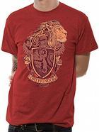 T-shirt Vermelha HARRY POTTER Gryffindor Tamanho XXL