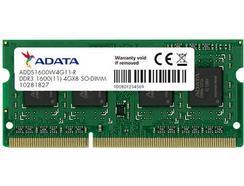 Memória RAM DDR3 ADATA 4GB 1600MHz