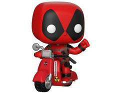 Figura Vinil FUNKO POP! Marvel: Deadpool on a Scooter