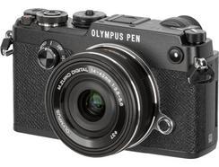 Olympus PEN-F (Preto) + M. Zuiko Digital 14-42mm f/3.5-5.6 EZ (Preto)
