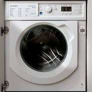 Máquina de Lavar e Secar Roupa de Encastre Indesit BI WDIL861284EU de 8 e 6 Kg 1.200 rpm- Branco