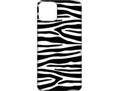 Capa iPhone 11 Pro Max FUNNY CASES Zebra Preto