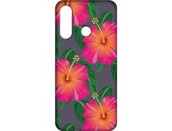 Capa Huawei P Smart+ 2019 FUNNY CASES Flores Multicor
