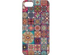 Capa iPhone 6, 6s, 7, 8 FUNNY CASES Mosaicos Preto