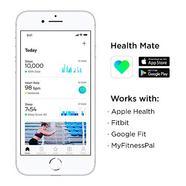 Pulseira Desportiva WITHINGS Pulse HR (Bluetooth – Até 20 dias de autonomia – À prova de água – Preto)