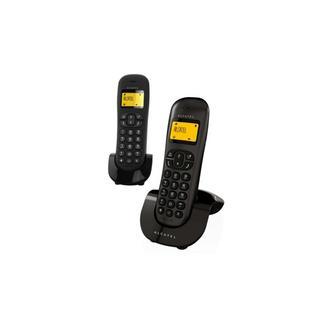 Telefone Fixo Sem Fios Alcatel Duo C250 – Preto