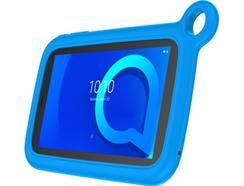 """ALCATEL 1T Kids (7"""" – 8 GB – 1 GB RAM – Wi-Fi – Preto) + Capa"""