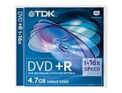 DVD+R TDK 4.7 GB 16X