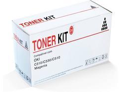Toner TONER KIT OKI C310/C330/C510 Magenta (ZZZOKC310M)
