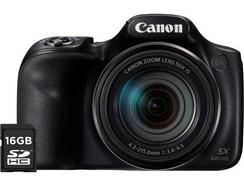 Máquina Fotográfica Bridge CANON Powershot SX540 HS + 16 GB (20.3 MP – ISO: Auto a 3200 – Zoom Ótico: 50x)