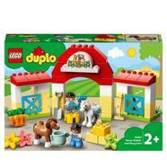 LEGO Duplo Town: Estábulo de Cavalos e Cuidar dos Póneis