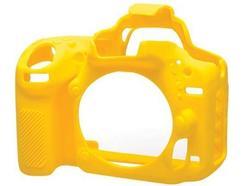 Capa de silicone EASYCOVER Nikon D750 Amarelo