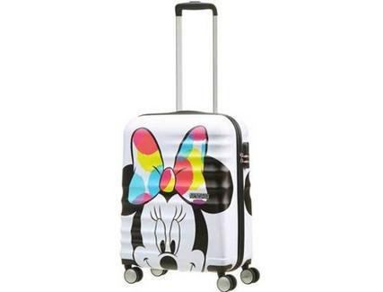 Mala de Viagem AMERICAN TOURISTER Disney Minnie Wavebreaker 55 cm