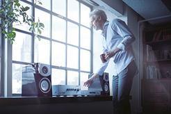Leitor Audio Rede YAMAHA MusicCast NP-S303 Prateado